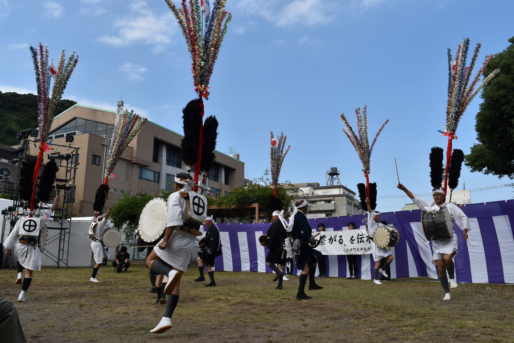太鼓踊り(小山田)