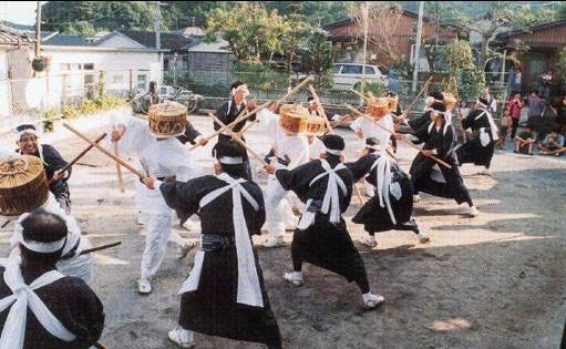 虚無僧踊り(中山)