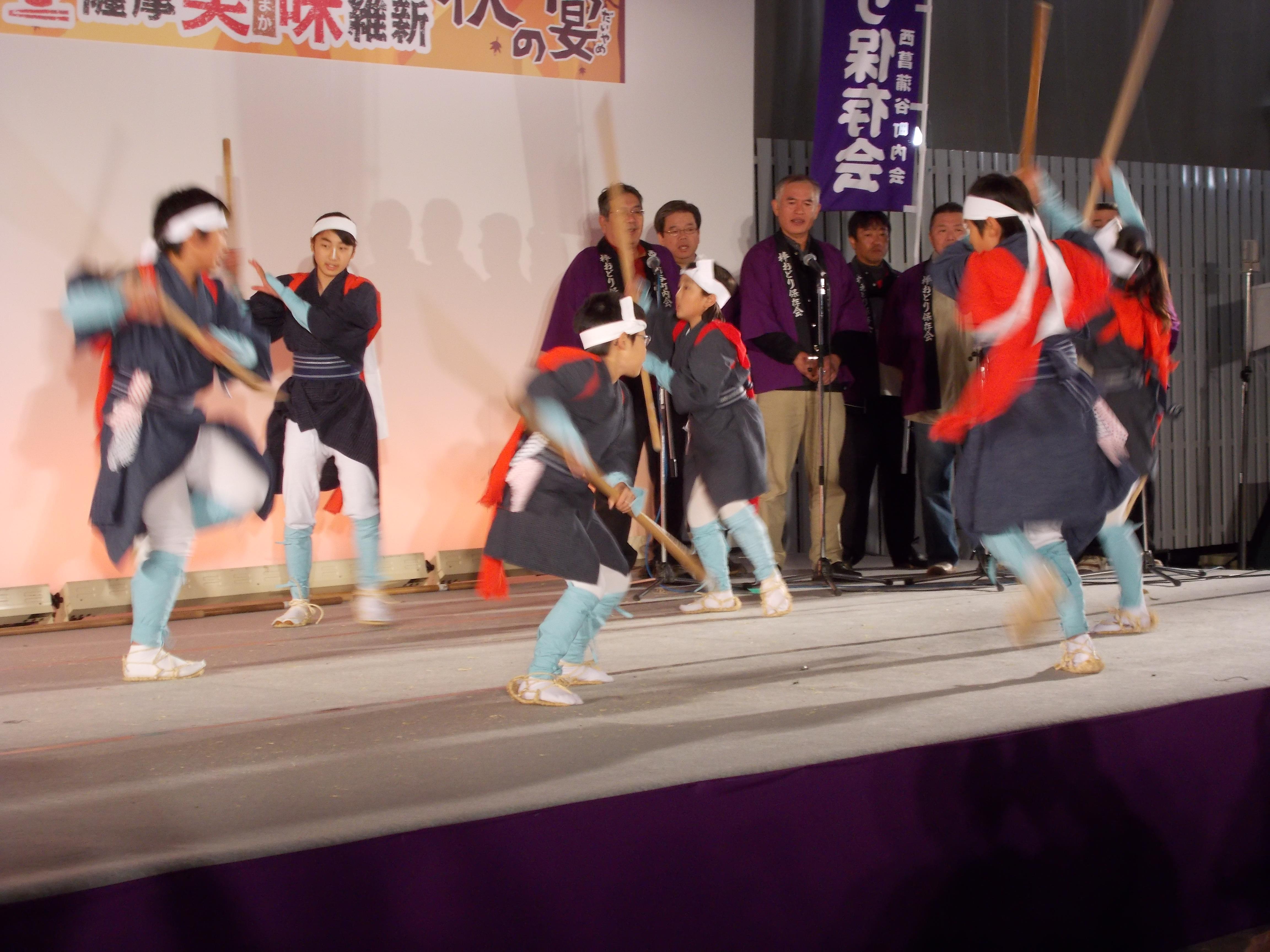 棒踊り(西菖蒲谷)