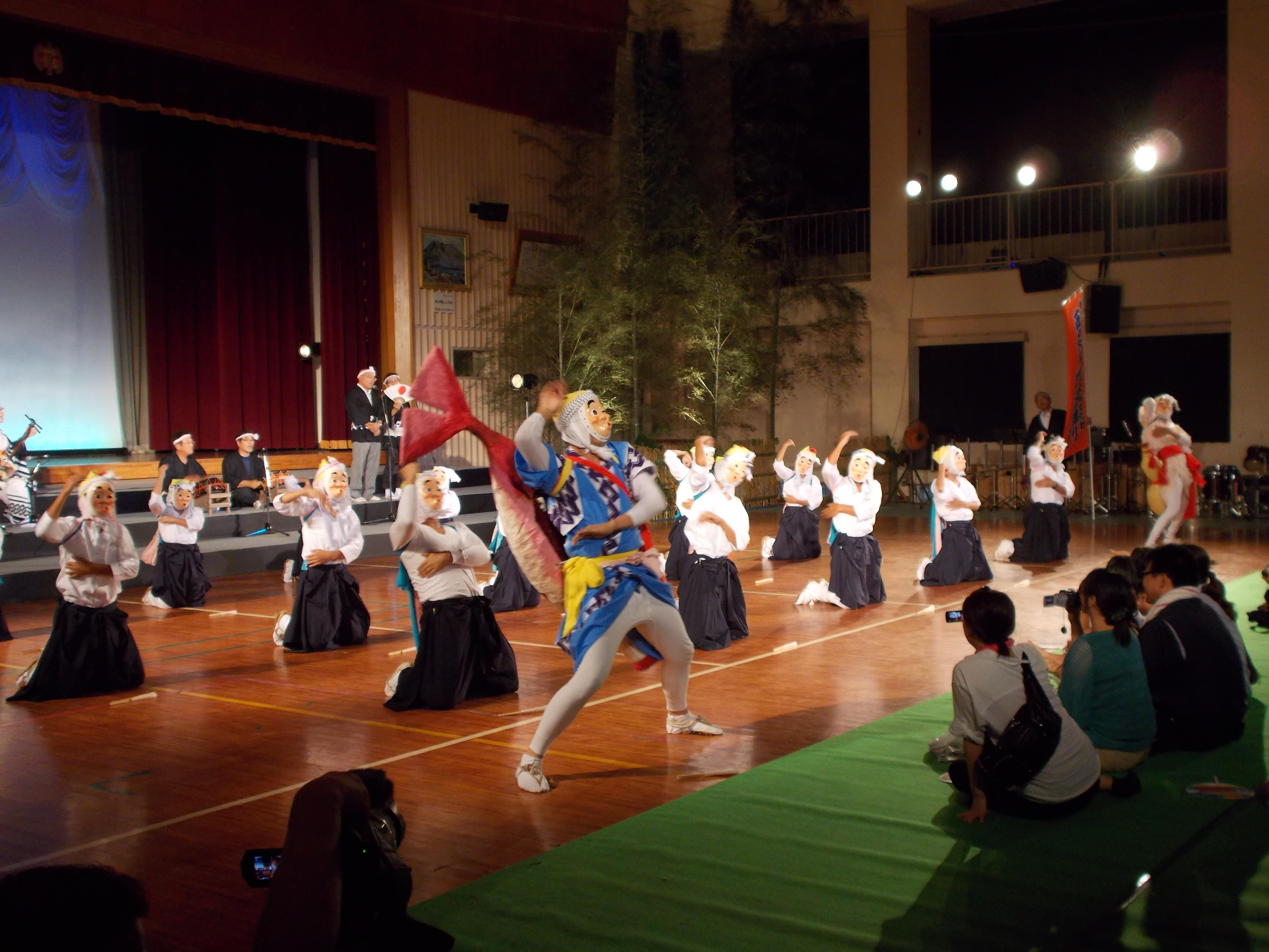 西俣の八丁杵踊り