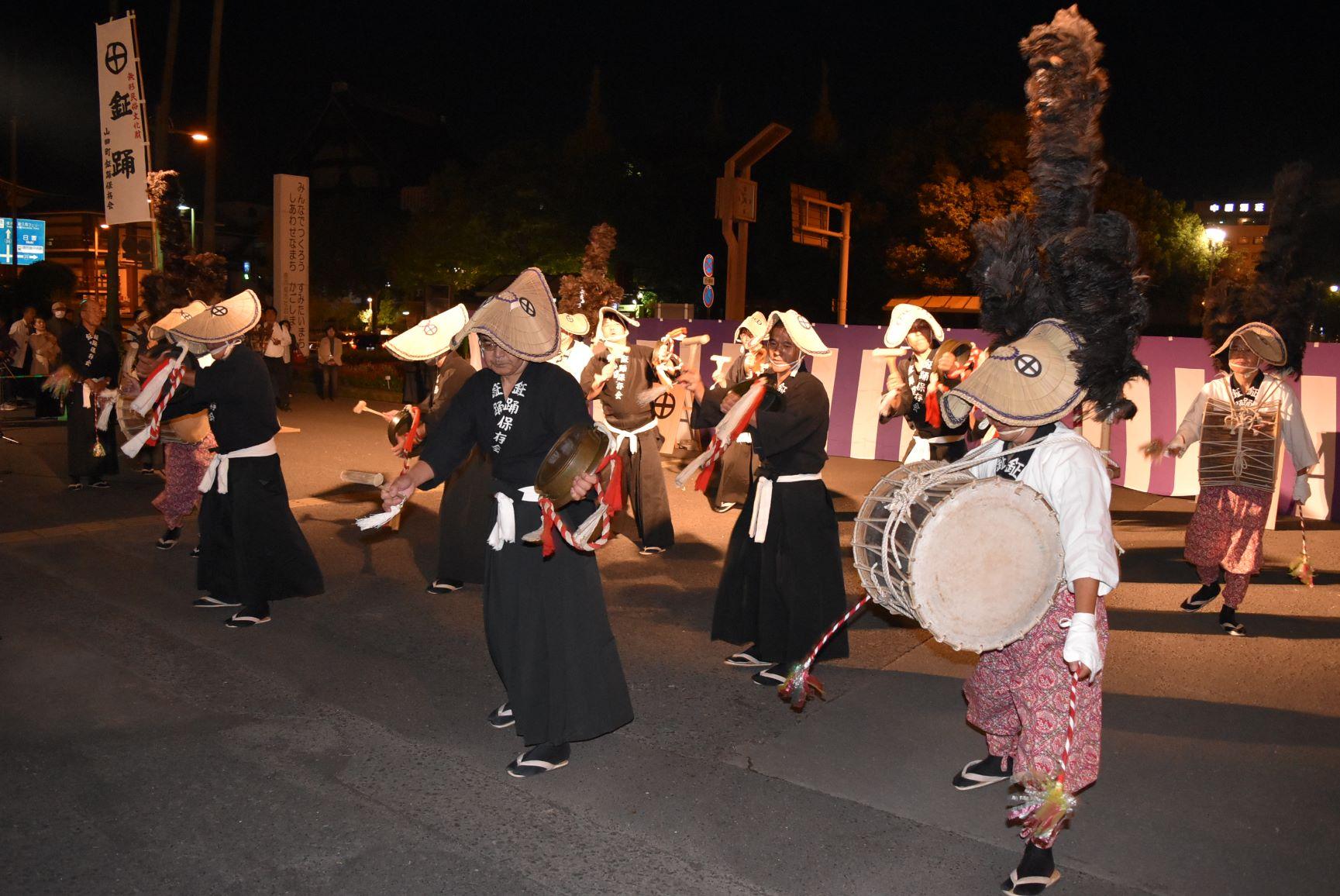 山田の鉦踊り