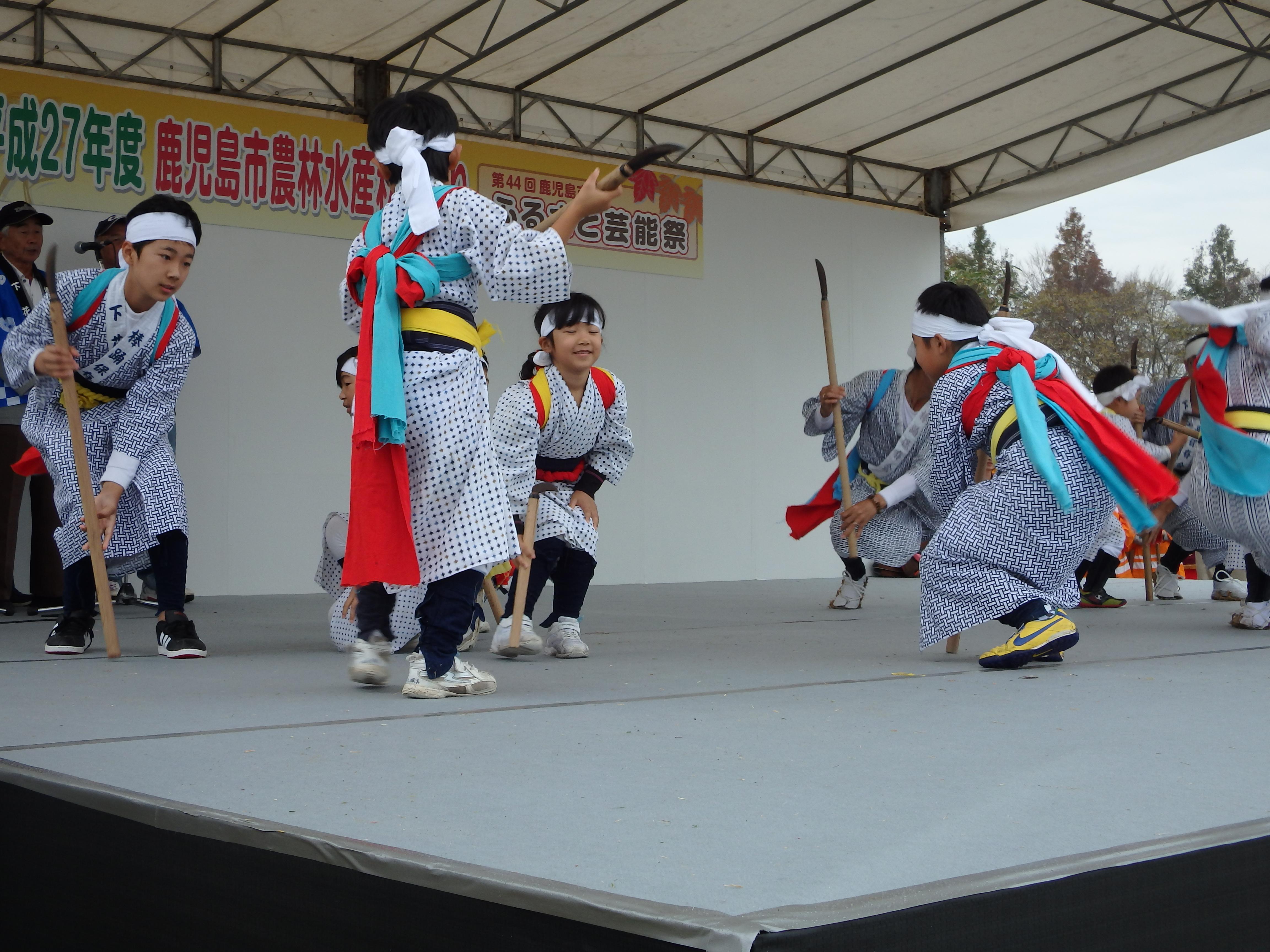 棒踊り(下花棚)