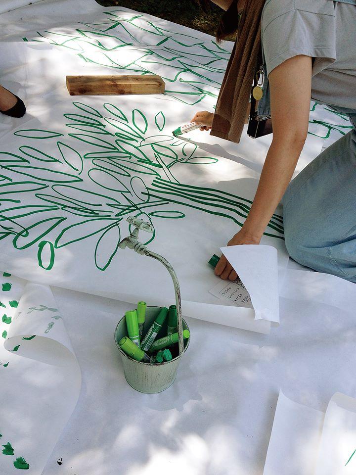 ママとこどものアートじかん in kagoshima「うまく描かない絵の教室」