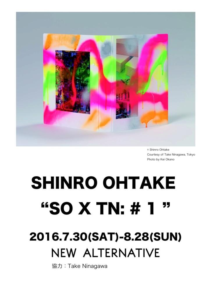 SHINRO OHTAKE 『SOxTN: #1』