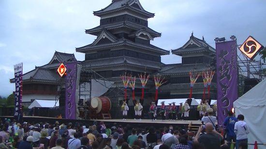 レポート『西上の太鼓踊り 松本城太鼓まつり&練習風景動画』