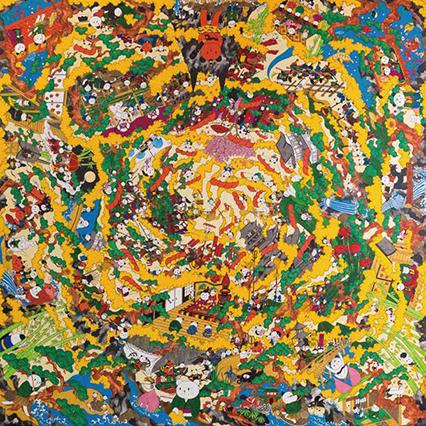 「パンダは回る」 あごぱん 絵画展 2017.10.14-2017.10.26