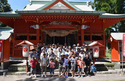 レポート『伝統芸能伝承事業「太鼓踊りと吹上の歴史を巡るツアー」』