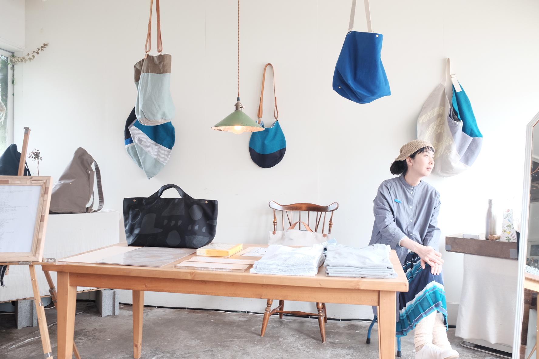 Cotomono Exhibition  オリジナル布のバッグ展