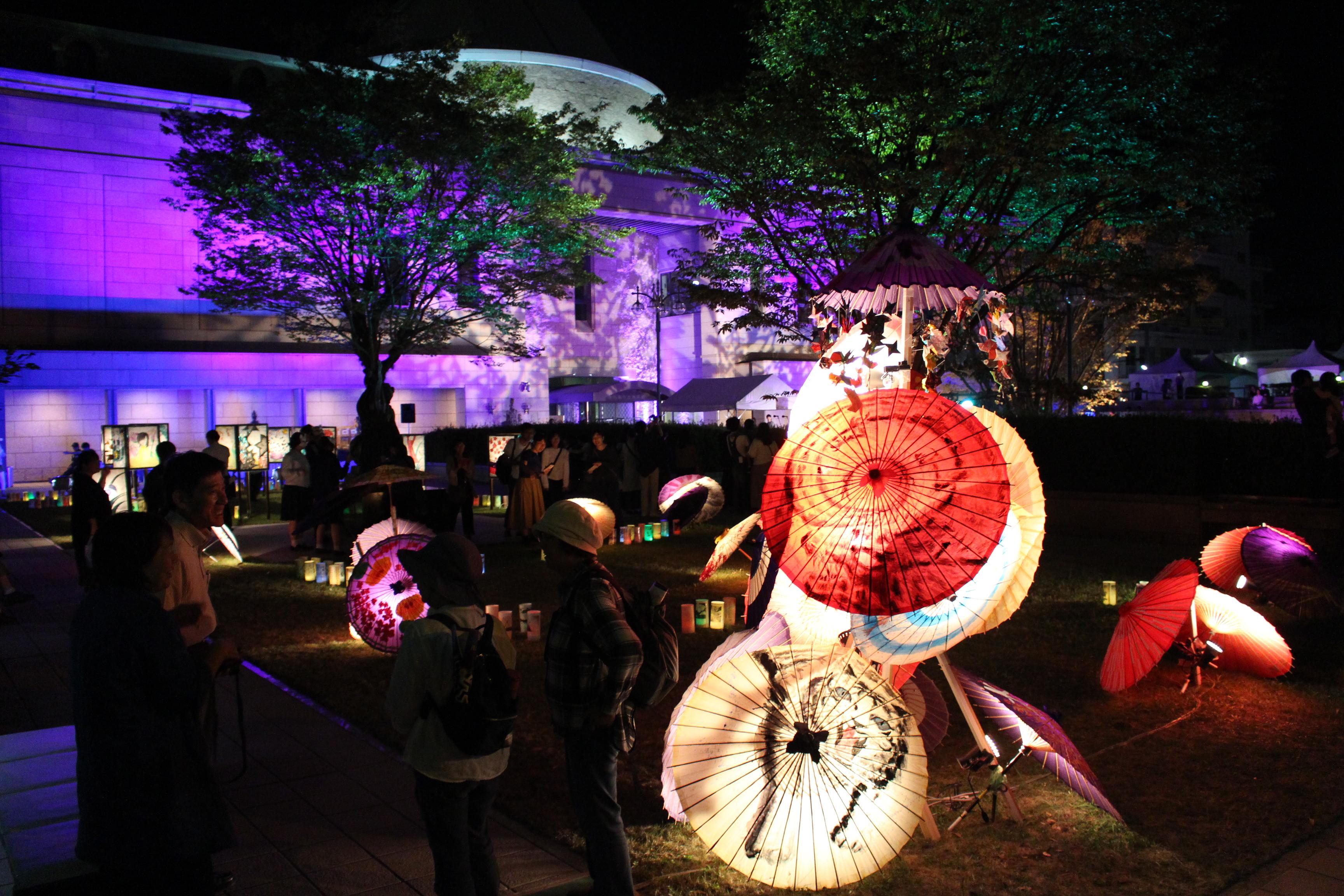 レポート「音とあかりの散歩道2019 【同時開催】第48回鹿児島市ふるさと芸能祭」