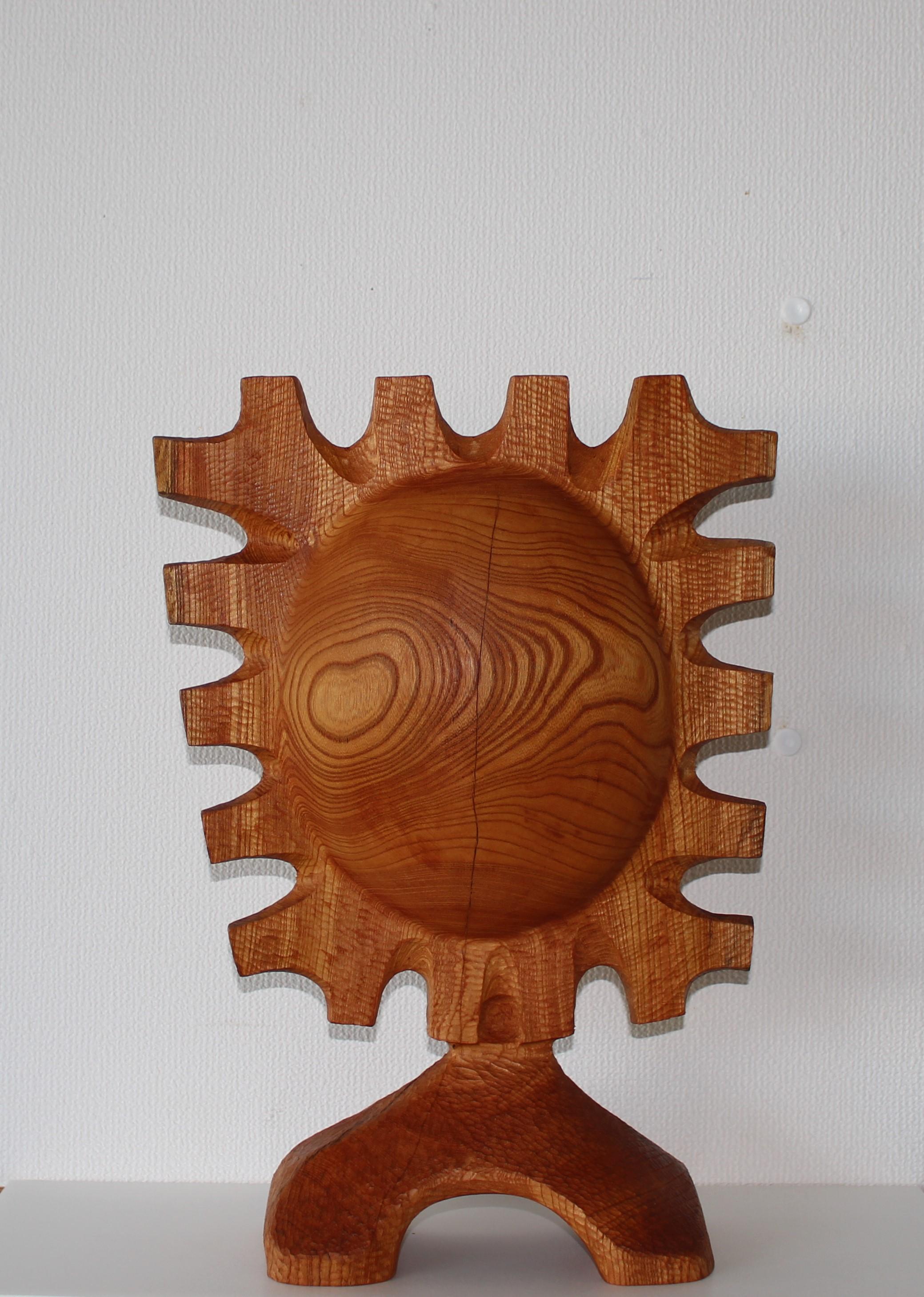 木にロマンを求めて 風間信秀 木の工芸展