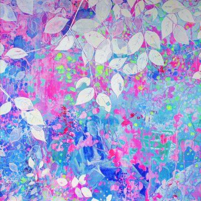 入江万理子絵画展  Colorful