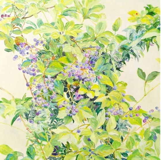 塩満 幸香絵画展 「草木と紡ぐ」