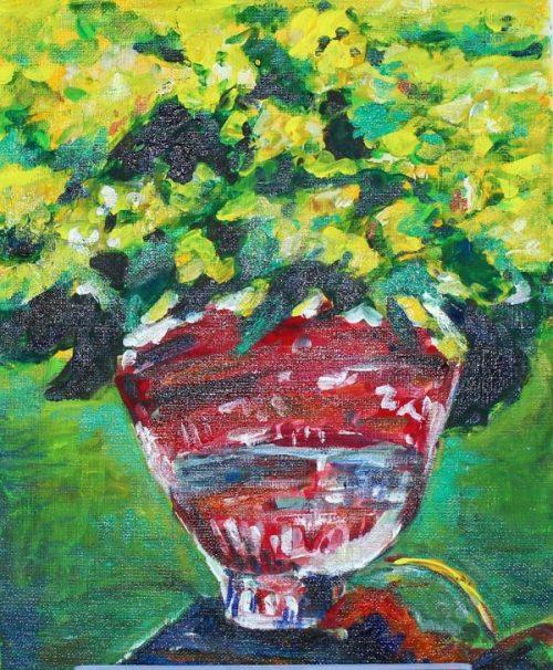 片下由紀子 油彩と水彩画展 -山と花ー