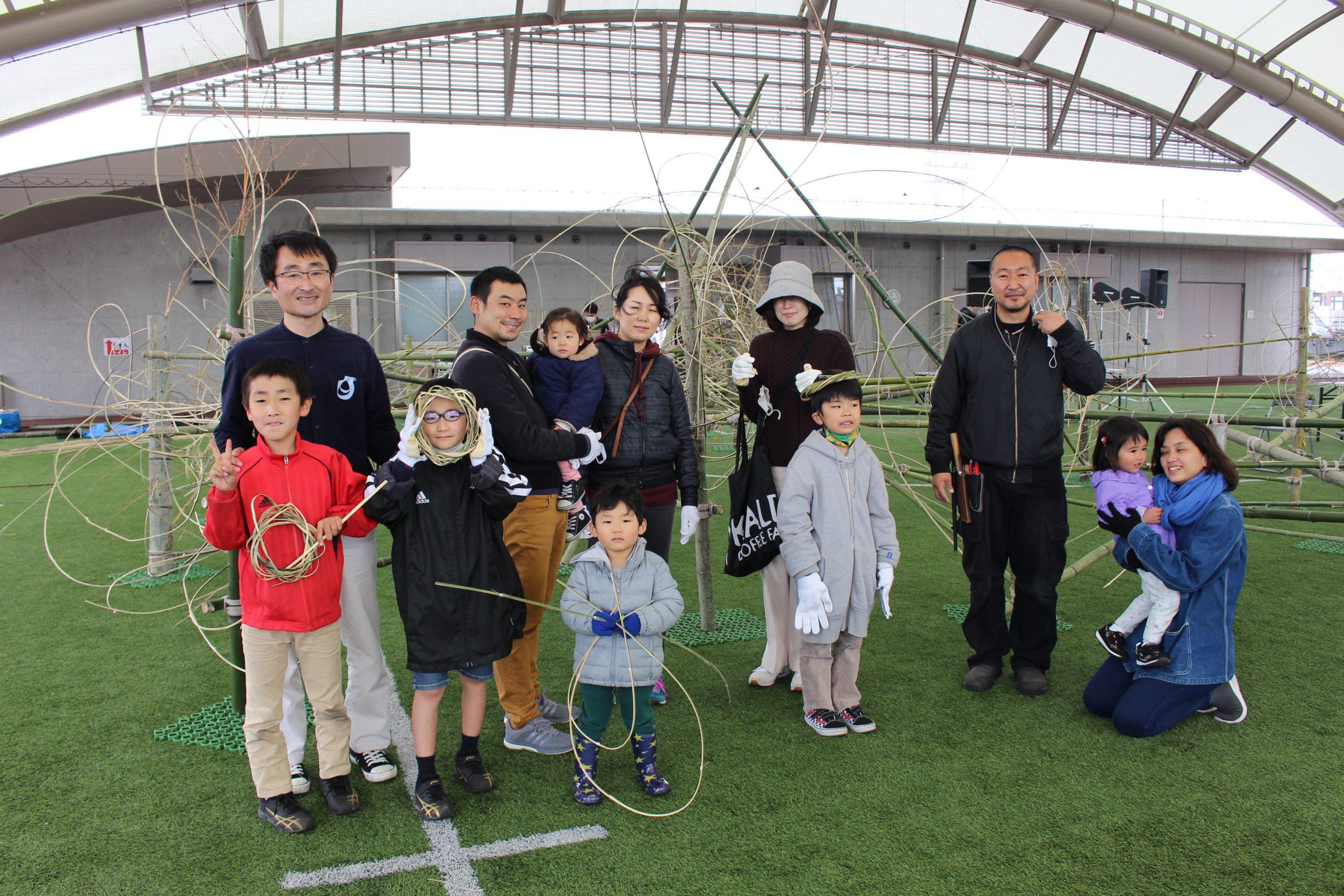レポート:げいじゅつたいけん!ワークショップ「竹と遊ぼう!」