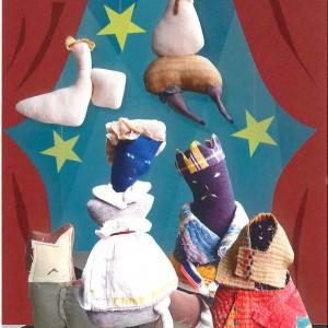 川島玲未 人形展 ―ロバに乗った粉屋‐
