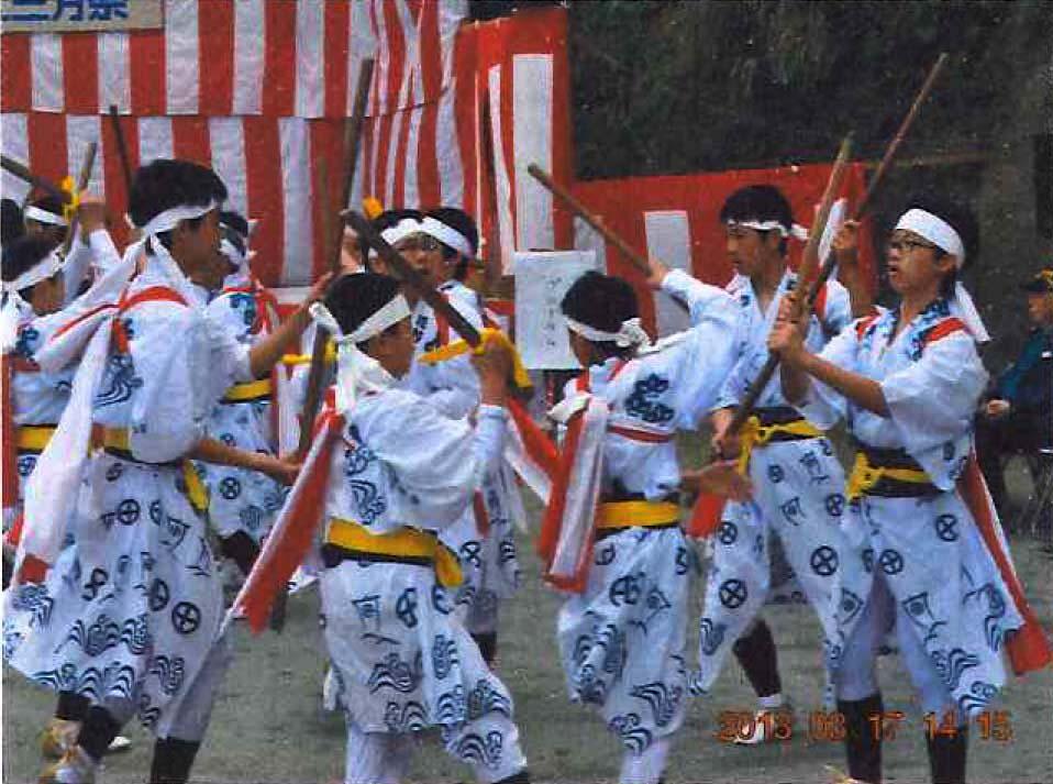 棒踊り(花野)