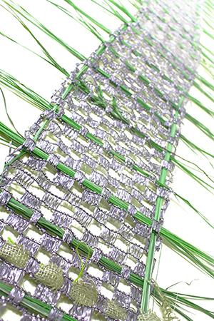 ゲストアーティストプログラムvol.2 「草で織る緑のタペストリー」 講師:永井友美恵
