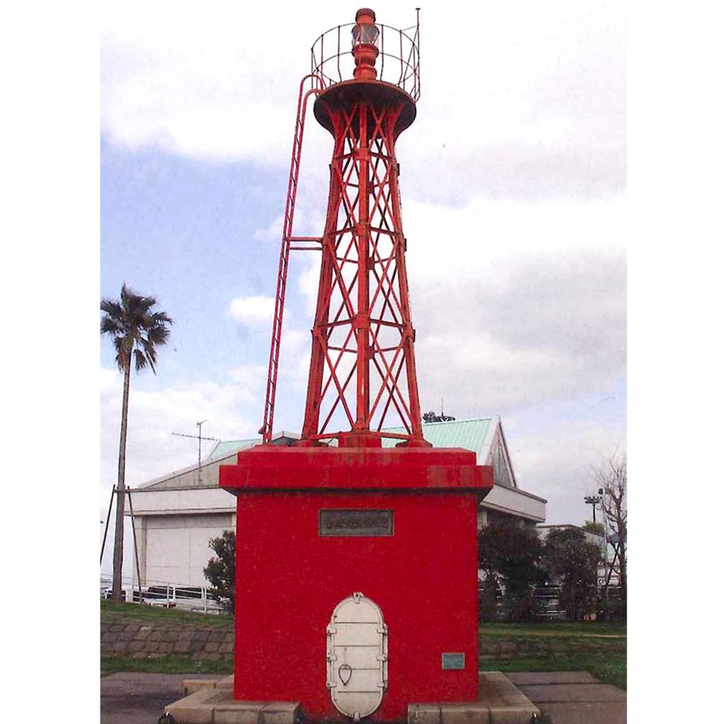 鹿児島旧港北防波堤灯台